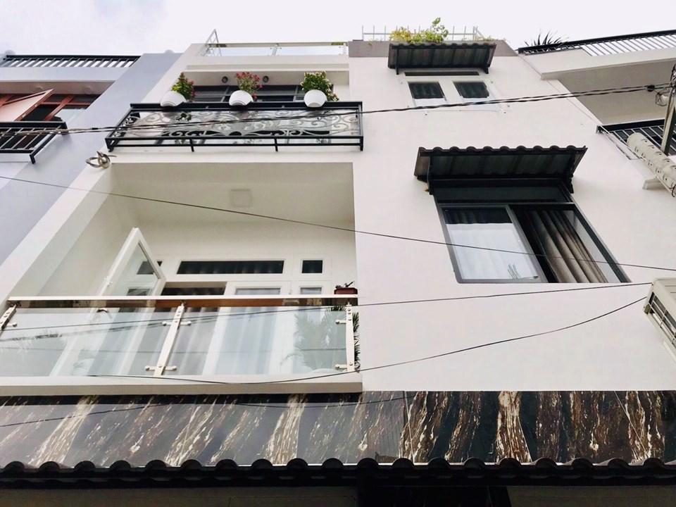 Bán nhà mặt tiền hẻm quận Gò Vấp phường 12, nhà mới 100%, full nội thất, Giá 4,2 tỷ.HXH