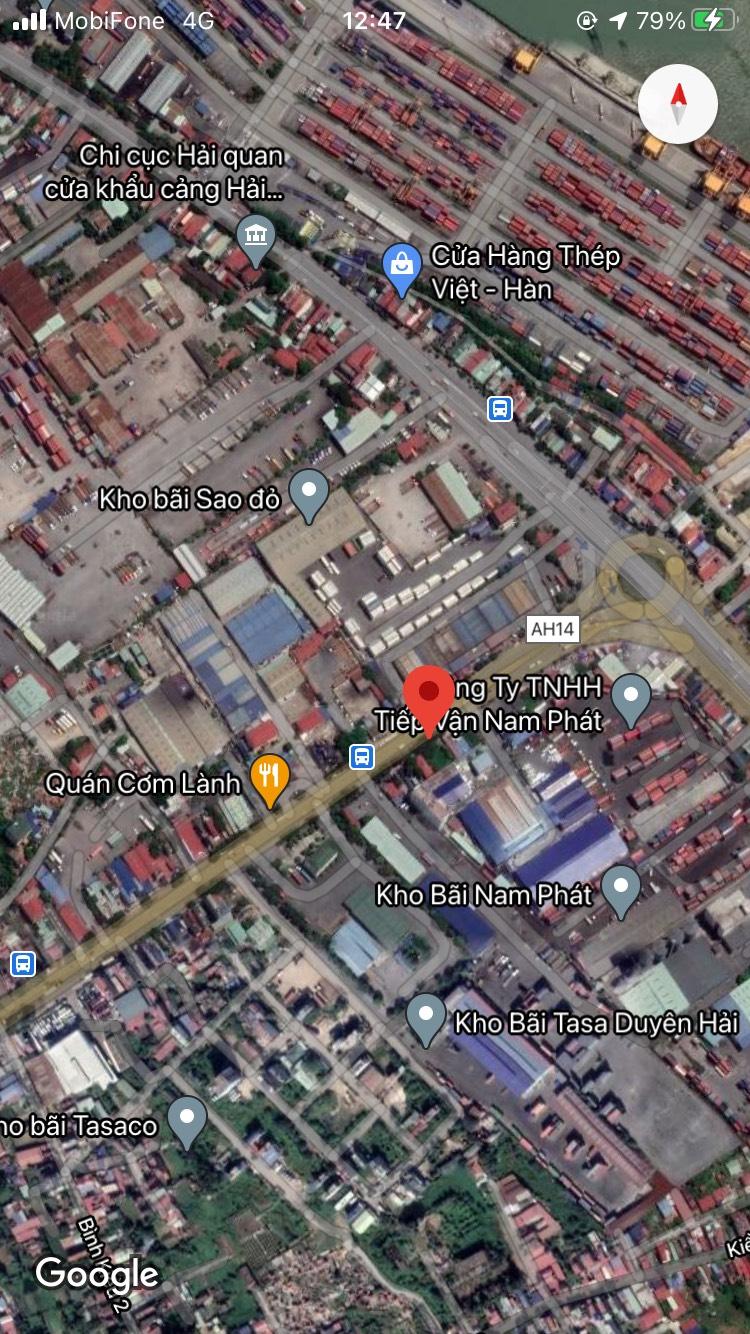 Chuyển nhượng lô đất mặt đường Nguyễn Bỉnh Khiêm, Đông Hải 2, Hải An, Hải Phòng.