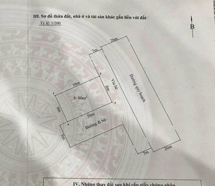 Bán Gấp lô đất 2 mặt tiền TĐC Tràng Cát, Tràng Cát, Hải An, Hải Phòng
