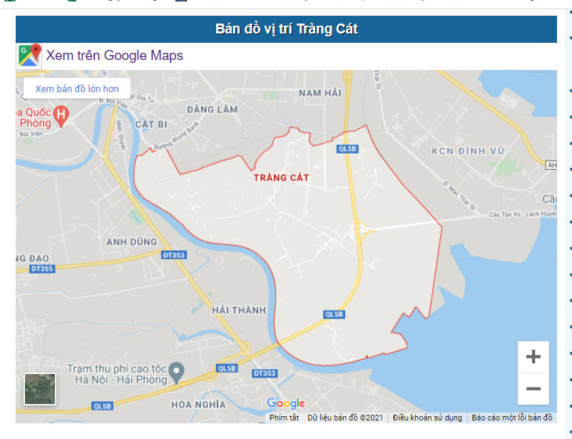 Cần bán gấp lô đất mặt đường Tân Vũ 2, Tràng Cát, Hải An, Hải Phòng