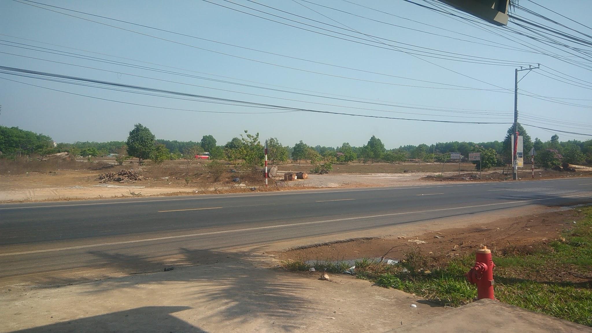 Bán đất gần sân bay Long Thành mặt tiền đường tỉnh lộ dt 769