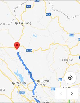 Chính chủ cần bán đất MẶT PHỐ QL2 Hùng An Bắc Quang Hà Giang 200m2 x MT10m, lh 0915214289
