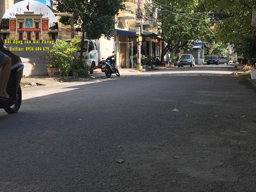 Chuyển nhượng lô đất biệt thự khu phân lô phường Thành Tô, Hải An, Hải Phòng.