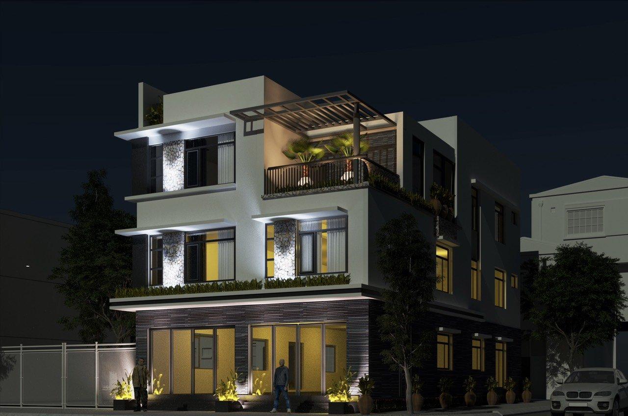 Cho thuê văn phòng xây mới mặt ngõ đường Nguyễn Bỉnh Khiêm, Hải An, Hải Phòng