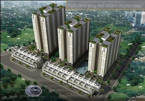 Chỉ cần 300tr nhận ngay căn hộ đầy đủ tiện nghi IEC Tứ Hiệp,vị trí trung tâm Thanh Trì