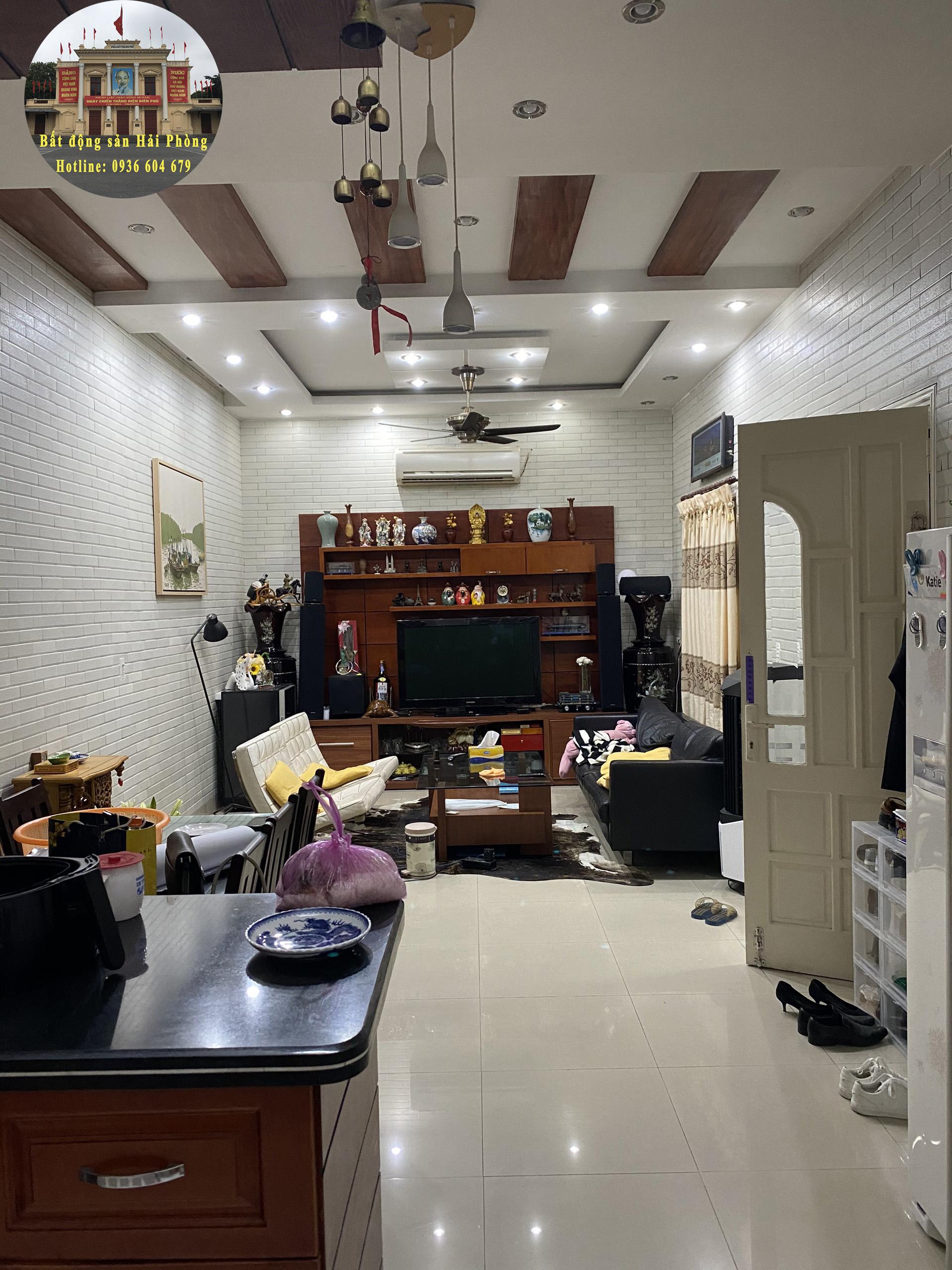 Bán nhà tronng ngõ 5m Lâm Tường, Tô Hiệu, Lê Chân, Hải Phòng