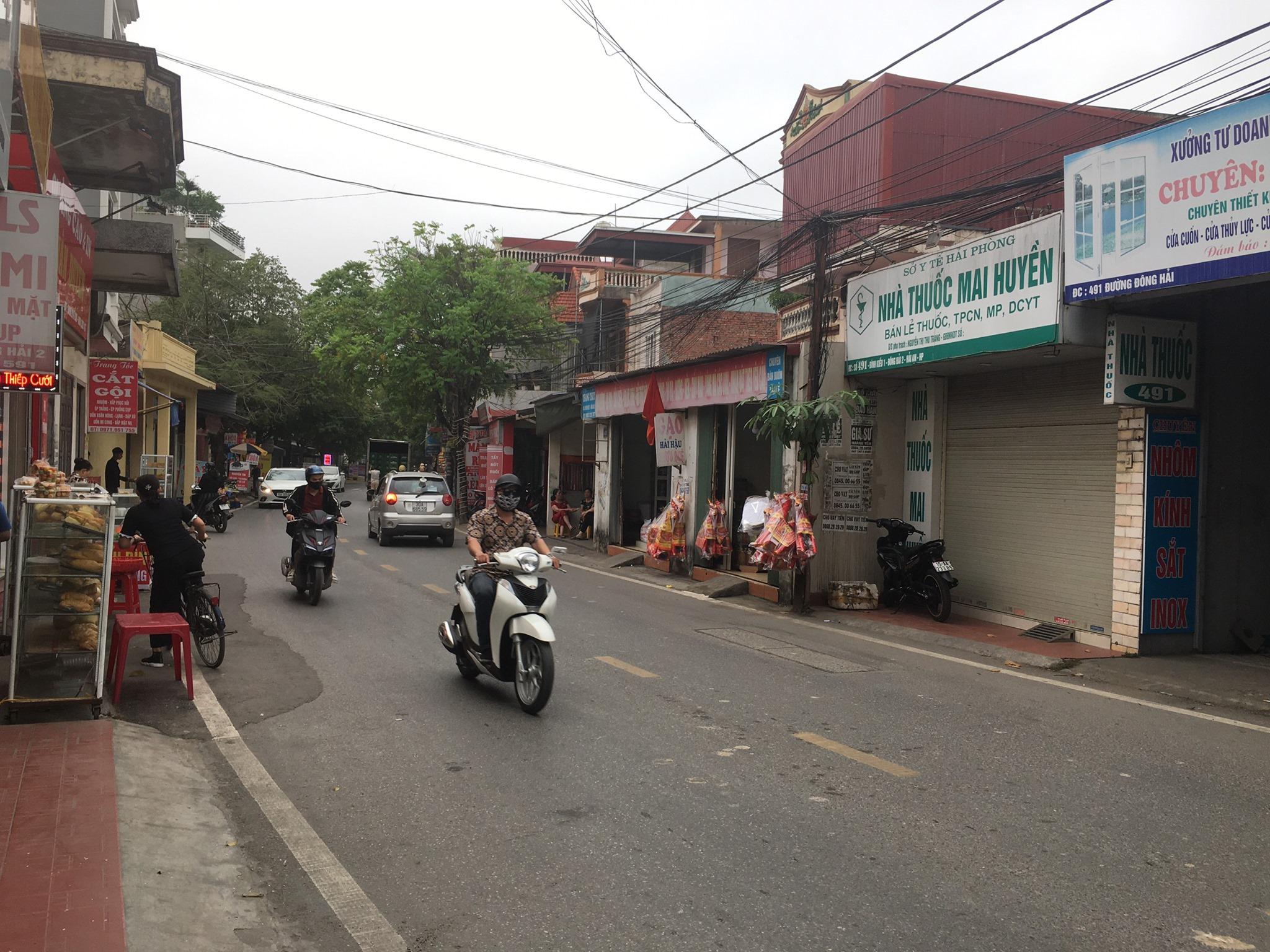 Cần bán gấp căn nhà 3 tầng độc lập mặt đường Đông Hải 2, Hải An, Hải Phòng