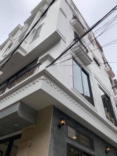 Nhà Trần Bình, Phân lô, lô góc, 45m, MT 3m5, 4 tầng giá 6 tỷ 6 : LH 0971026688.