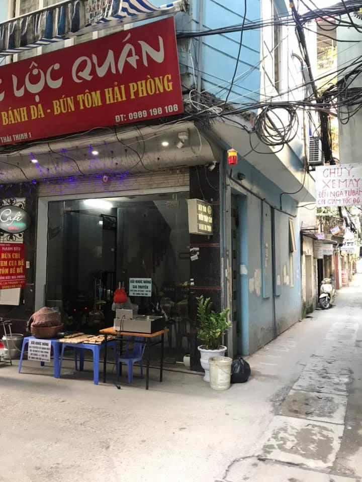 Lô góc Thái Thịnh – Ô tô – Kinh doanh 7.5 tỷ
