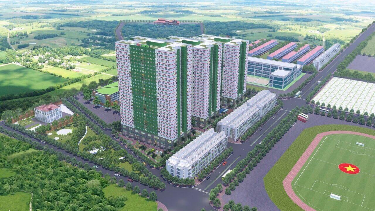 Bán dự án Chung cư NOXH IEC Tứ Hiệp-Thanh Trì / giá chỉ từ 15tr/m2 - LH: 09.6789.2707