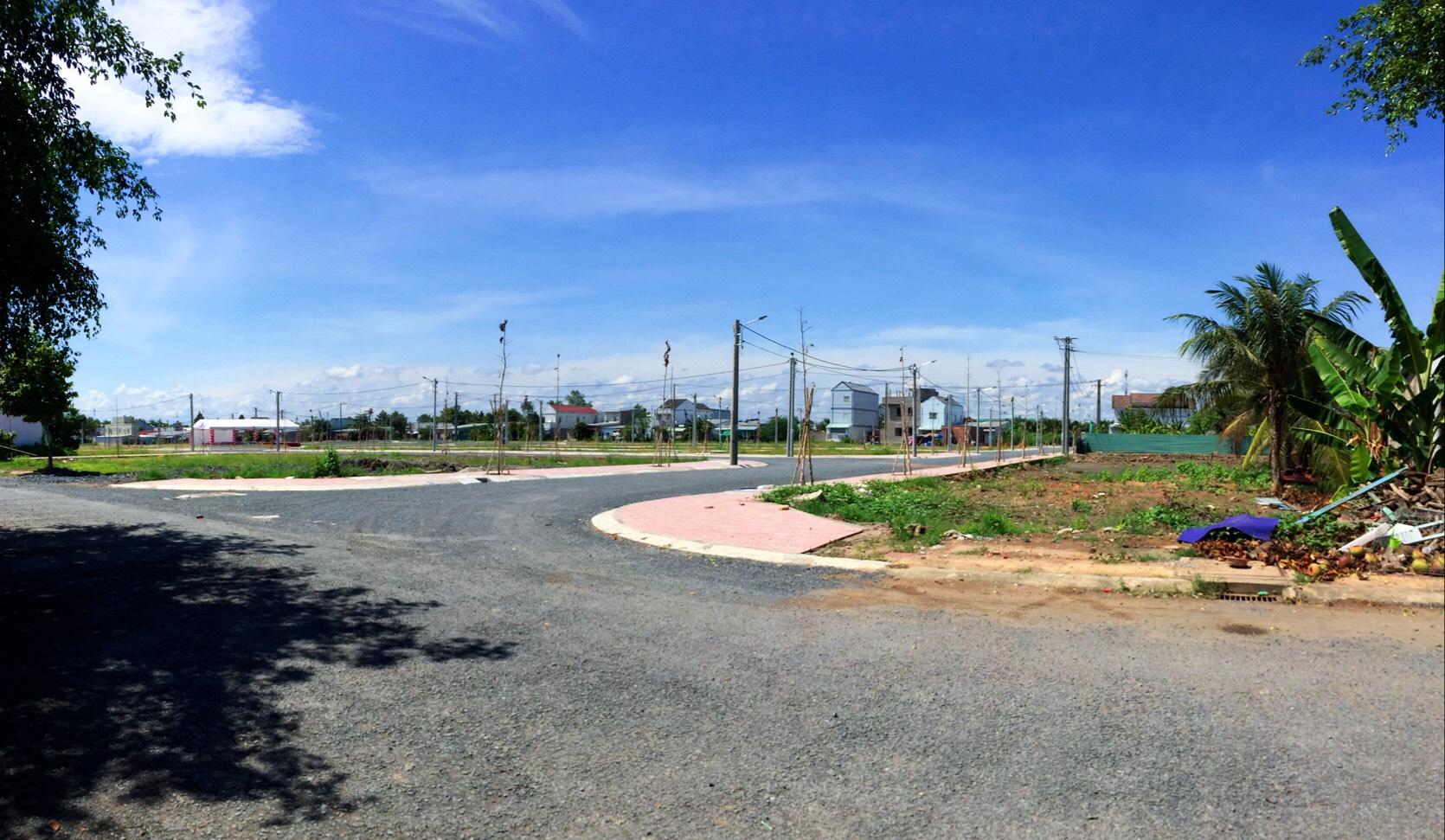 Đất Nền Khu Dân Cư Mới Chợ Phường 9 TP Vĩnh Long