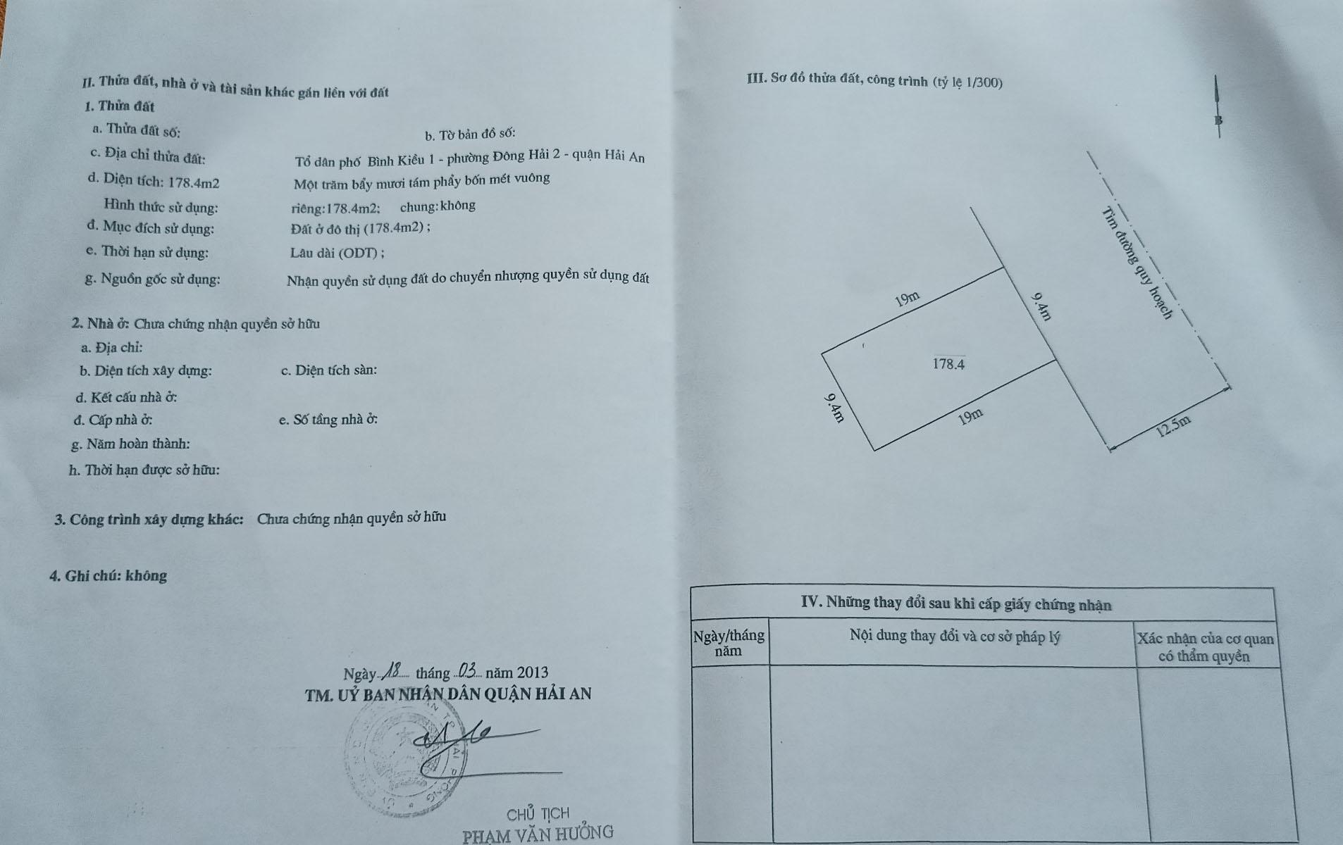 Bán nhanh lô đất khu TĐC Tasa Bình Kiều 1, Đông Hải 2, Hải An, Hải Phòng