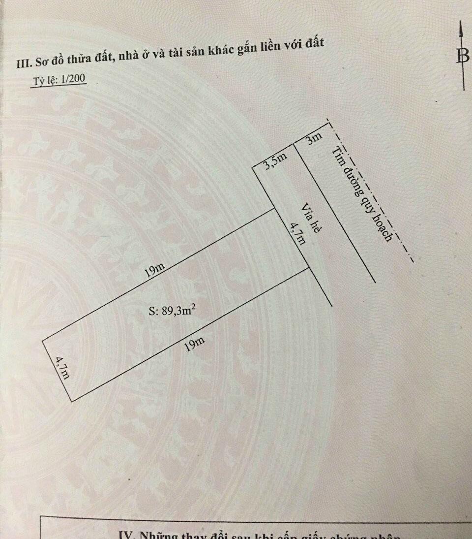 Chuyển nhượng lô đất khu TĐC Tasa Bình Kiều 2, Đông Hải 2, Hải An, Hải Phòng